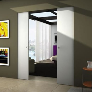 Eclisse Syntesis Double Sliding Pocket Door System