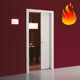 Eclisse Single Fire Rated Sliding Door System