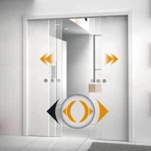 Eclisse Co-ordination Kit for Double Door System