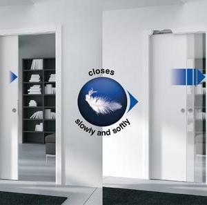 Eclisse Soft Closing Kit 40-50Kg Wooden Door