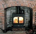 Clearview 650 12kw Wood and Multi-fuel stove