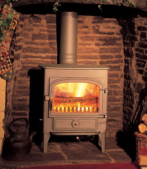 Clearview Vision 500 8kw Wood and Multi-fuel stove