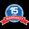 15 Year Warranty on Eclisse Pocket Doors