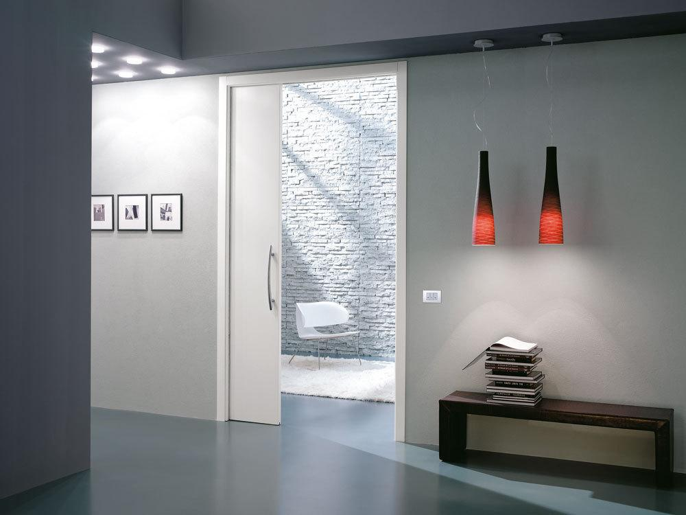 Eclisse Single Sliding Pocket Door System